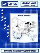 ATSG Chrysler Dodge Jeep 46RE 47RE 48RE 1996-Up Transmission Rebuild Manual