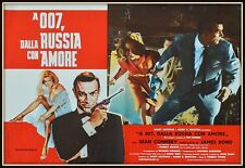 fotobusta  JAMES BOND 007  DALLA RUSSIA CON AMORE  SEAN CONNERY