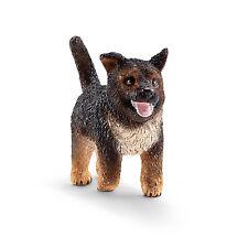 T4) SCHLEICH 16832 PERRO PASTOR ALEMÁN Cachorro Animales