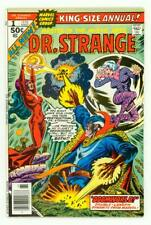 DOCTOR STRANGE ANNUAL #1 NM+ 9.6 P CRAIG RUSSELL 52 PAGES COMIC 1976