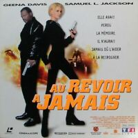 AU REVOIR A JAMAIS WS VF PAL LASERDISC Geena Davis, Samuel L. Jackson