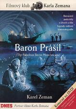 Baron Prasil / Baron Munchausen 1961 Karel Zeman DVD English subtitles