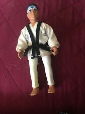 Vintage 1986 Remco Karate Kid Daniel LaRusso Cobra Kai Action Figure WORKS