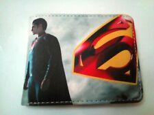 Superman Vs. Batman Cool Cartera Con Moneda Cremallera. Gratis P&P/./