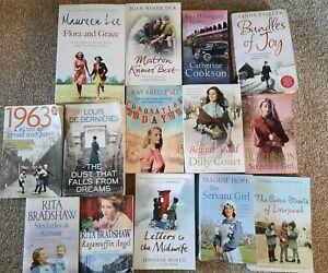 Ladies HISTORICAL FICTION book bundle x14, DILLY COURT, bundles of joy, midwife