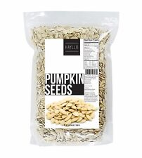 3 LB Pumpkin Seeds in Shell ,Salted and Roasted by Hayllo Superfood
