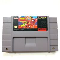 Great Circus Mystery Mickey Mouse - Super Nintendo SNES Game - Tested - Working!
