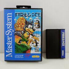 FIRE & ICE (Sega Master System) Region Free Tec Toy Brazil version