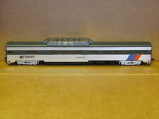 RARE NEW JERSEY TRANSIT VISTA DOME SMOOTH SIDE PASSENGER CAR BY IHC NIB 48187