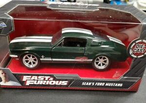 JADA TOYS.. FAST AND FURIOUS.. SEAN'S FORD MUSTANG..1:32 SCALE.. DIECAST