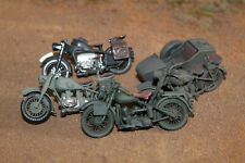 Built:  1/35 Assorted Motorcycles