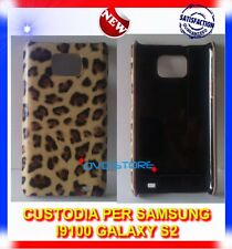 Custodia+Pellicola LEO BROWN per Samsung i9100 GALAXY S2 plus I9105
