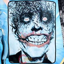 DC Comic Batman Joker Plush Blanket Microfiber Raschel Throw - Twin 46 x 60