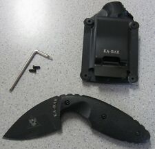 NEW Ka-Bar 1480 TDI Law Enforcement Backup Knife & Sheath Clip 02-1480 021480