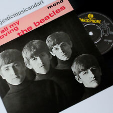 "THE BEATLES ALL MY LOVING EP 7"" VINYL 45 PARLOPHONE UK MONO NM"