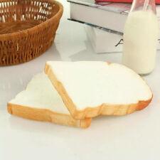 2x pieces of false toast Kitchen Art Decoration artificial garden party 10x13cm