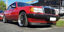 Mercedes 190 W201 Euro Front Deep Bumper Chin Spoiler Lip Sport Valance Splitter