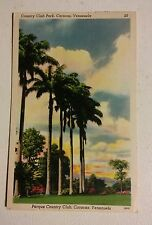 015 VTG Postcard Parque Country Club Park Caracas Venezuela Tarjeta Postal Color