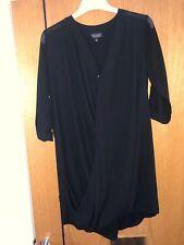 Top Shop Black Chiffon Jacket Dress