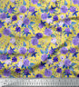 Soimoi Fabric Lilac & Peony Floral Print Sewing Fabric BTY - FL-858
