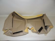 New OEM 2008-2014 Ford Rear Seat Cushion Cover Left Hand Side Leather Camel