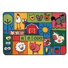 Carpets for Kids 36.39 Old MacDonald Farm 3 ft. x 4.5 ft.