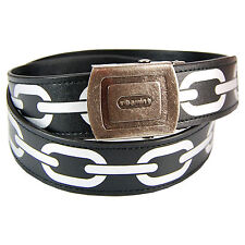 Chain Belt - Cool Funky Metal Chain Link Style Fashion Accessory for Him and Her