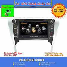 "2Din S100 8""Car DVD/GPS/CD Player For 2012 Toyota Camry,Radio,Ipod,RDS,AUX,BT,TV"