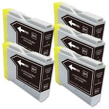 5 PK BLACK Premium Ink for Series LC51 Brother MFC 230C 240C 440CN 465CN 3360C