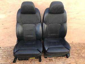 BMW F02 F01 750LI 760LI 750I FRONT HEATED LEATHER SPORT SEAT SEATS 79K OEM