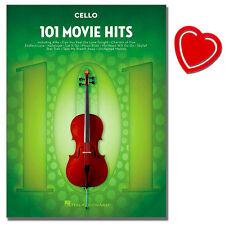 101 Movie Hits for Cello  - Noten für Cello - HL00158096 - 9781495060724