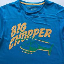 "Men's Royal Blue Cedarwood State ""Big Chopper"" T-Shirt Size M"