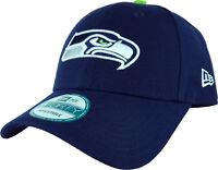 Seattle Seahawks New Era 940 NFL The League Adjustable Cap