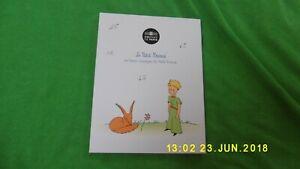 """Pièce de 50 euros colorisée """"Le Petit Prince et le renard"""""""