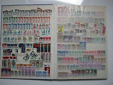 Gestempelte ungeprüfte schweizer Briefmarken
