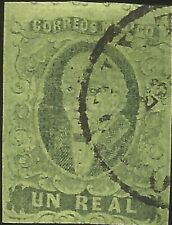 J) 1861 Mexico, Hidalgo, Un Real, No District Name, Second Choice, Plate Iii, Ci