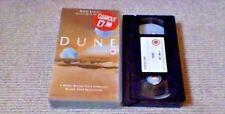 David Lynch's Dune POLYGRAM UK PAL VHS VIDEO 1995 Frank Herbert Sci-Fi Sting