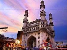 PHOTO LANDMARK CHARMINAR MOSQUE MONUMENT HYDERABAD INDIA POSTER PRINT BMP11077