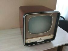 Old television set Radium-A 1950-60s USSR. Works.