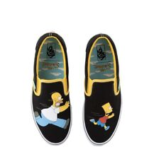 Vans Slip On x The Simpsons Bart And Homer Size 5-11