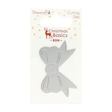 Dovecraft Fustella – Natale Fiocco - ottimo per Carte o Artigianato