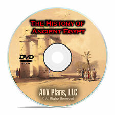 The History of Egypt, 355 Historical Books, Photographs, Paintings, PDF DVD E98