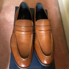NEW COLE HAAN MENS JEFFERSON GRAND PENNY LOAFER - BRITISH TAN
