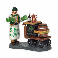 Dept 56 Citc Serving Irish Ale 58988 D56 Christmas in the City Accessory New