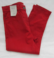 Marks and Spencer Cotton Mid Capri, Cropped Jeans for Women