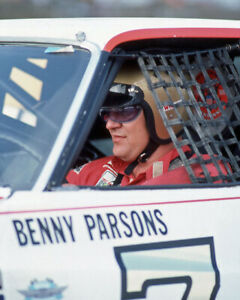 1976 Daytona Driver BENNY PARSONS Glossy 8x10 Photo Print Portrait Poster
