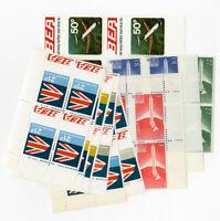 Great Britain Mint NH European Airways Stamp Lot