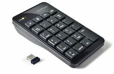 CLiPtec® PC Laptop 2.4GHz Wireless USB Numeric Keypad Numpad Number 23 keys Pad