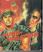 Punk Vacation (2-Disc Blu-Ray DVD Set) OOP Vinegar Syndrome with Slipcover NEW!