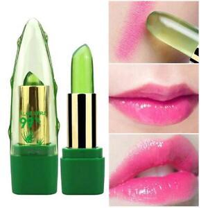 Aloe Vera Lippenstif Langlebig Farbwechsel Lipgloss Balsam Feuchtigkeitsspendend
